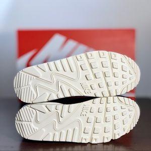 NIB Nike   Air Max 90 LX Black Pony Hair Suede NWT